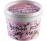 Bomb Cosmetics Francouzský polibek - French Kiss Bahenní maska 120 ml