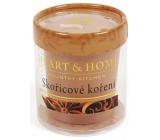 Heart & Home Skořicové koření Sojová svíčka bez obalu hoří až 15 hodin 53 g