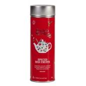 English Tea Shop Bio Kořeněné červené ovoce 15 kusů bioodbouratelných pyramidek čaje v recyklovatelné plechové dóze 30 g, dárková sada