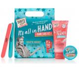 Dirty Works Its All In Hand krém na ruce 100 ml + balzám na nehty a kůžičku 10 g + pilník na nehty 2 kusy, kosmetická sada