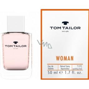 Tom Tailor Woman toaletní voda pro ženy 50 ml