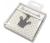 Nekupto Dárková klíčenka pro štěstí Skvělá kamarádka 4 cm