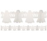 Girlanda Anděl bílá 400 x 25 cm