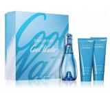 Davidoff Cool Water Woman toaletní voda 100 ml + tělové mléko 75 ml + sprchový gel 75 ml, dárková sada