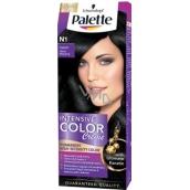 Schwarzkopf Palette Intensive Color Creme barva na vlasy odstín N1 Černý