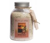 Bohemia Gifts & Cosmetics Skořice a Akát s afrodiziakální vůní koupelová sůl 1,2 kg