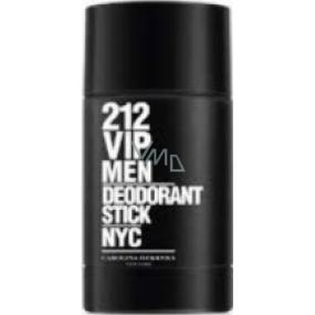 Carolina Herrera 212 VIP Men deodorant stick pro muže 75 ml