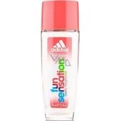Adidas Fun Sensation parfémovaný deodorant sklo pro ženy 75 ml