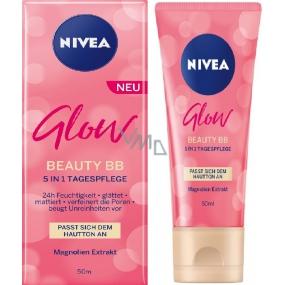 Nivea Glow Beauty BB denní krém zmatňující pro problematickou pleť 50 ml