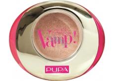 Pupa Dot Shock Vamp! Wet & Dry Eyeshadow oční stíny 602 Sandy White 1 g