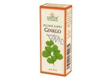 Grešík Ginkgo bylinné kapky na periferní oběhový systém 50 ml