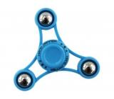Fidget Spinner Gyro s kuličkami antistresová vychytávka modrý 6,5 x 6,5 cm