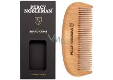 Percy Nobleman Dřevěný hřeben na vousy pro muže