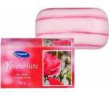 Kappus Růže luxusní toaletní mýdlo s přírodními oleji 150 g