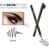 Revers Eye Brow Stylist tužka na obočí Black 1,2 g