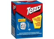 Teza Elektrický odpařovač proti komárům s náhradními polštářky 20 kusů