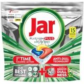 Jar Platinum Plus All in One Lemon Kapsle do myčky nádobí 15 kusů