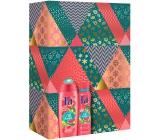 Fa Island Vibes Fiji Dream sprchový gel 250 ml + Island Vibes Fiji Dream deodorant sprej pro ženy 150 ml, kosmetická sada