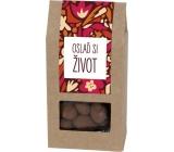 Albi Mandle v čokoládě se skořicí Oslaď si život 80 g