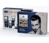 Regina for Men pleťový krém 24h 50 ml + sprchový gel 200 ml + Original jelení lůj 13 g, kosmetická kazeta