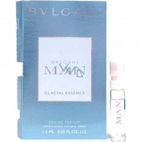 Bvlgari Man Glacial Essence parfémovaná voda pro muže 1,5 ml s rozprašovačem, vialka