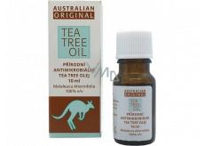 Australian Tea Tree Oil Original 100% čistý přírodní olej čistí pokožku od bakterií 10 ml