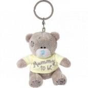 Me to You Klíčenka plyšová Medvídek s tričkem a nápisem Mummy To Be 8 cm