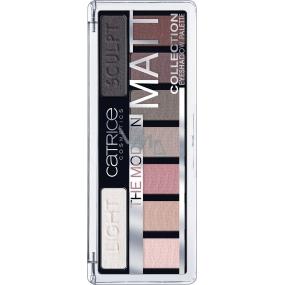 Catrice The Modern Matt Eyeshadow Palette paleta očních stínů 010 The Must-Have Matts 10 g