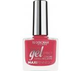 Deborah Milano Gel Effect Nail Enamel gelový lak na nehty 22 Dolls Pink 8,5 ml