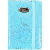 Albi Diář 2019 mini Světle modrý 11 x 7,5 x 1,2 cm