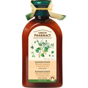 Green Pharmacy Březové pupeny a Ricinový olej kondicionér proti lupům 300 ml