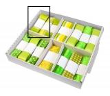 Ditipo Stuha látková zelená, proužek průsvitná Flora 3 m x 25 mm