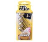 Yankee Candle Vanilla Cupcake - Vanilkový košíček vonné kolíčky do auta vonné kolíčky do auta 29 g x 4 kusy