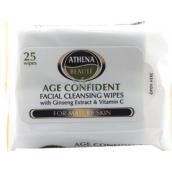 Athena Mature Skin Odličovací vlhčené ubrousky 25 ks