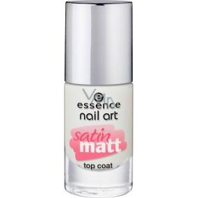 Essence Nail Art Satin Matt Top Coat krycí lak 26 Matt About You! 8 ml
