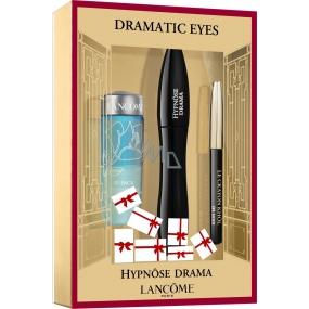 Lancome Hypnose Drama Mascara řasenka černá 6,5 ml + Bi-Facil dvousložkový odličovač očí 30 ml + Crayon Khol Mini tužka na oči černá 0,7 g, kosmetická sada