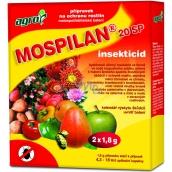 AgroBio Mospilan 20SP přípravek na ochranu rostlin 2 x 1,8 g