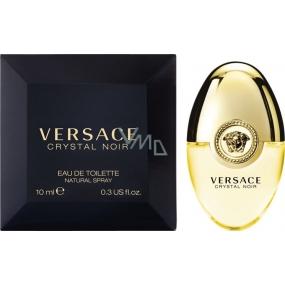 Versace Crystal Noir toaletní voda pro ženy 10 ml, Miniatura