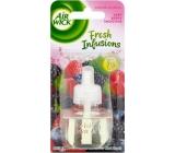 Air Wick Fresh Infusions Very Berry Smoothie - Vůně smoothie lesní ovoce elektrický osvěžovač náhradní náplň 19 ml
