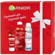 Garnier Regenerační péče tělové mléko 400 ml + Action Control deodorant sprej 150 ml + regenerační krém na ruce 100 ml, kosmetická sada