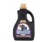 Woolite Dark Black & Denim tekutý prací prostředek s keratinem na tmavé a černé prádlo 30 dávek 1,8 l