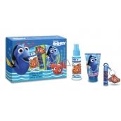 Disney Hledá se DoryToaletní voda 100 ml + sprchový gel + šampon 150 ml + balzám na rty + klíčenka pro děti dárková sada