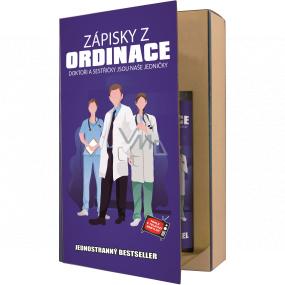 Bohemia Gifts Doktor sprchový gel 200 ml + šampon na vlasy 200 ml, kniha kosmetická sada