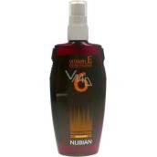 Nubian OF6 Olej na opalování ve spreji, nízká ochrana 150 ml
