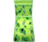 Kapsář do koupelny závěsný 700 zelený 25 x 58 cm