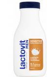 Lactovit Men Sensitive sprchový gel ultra hydratující pro muže 300 ml