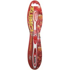 Nekupto Zubíci měkký zubní kartáček s nápisem Babička 1 kus