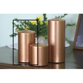 Lima Metal Serie svíčka měděná válec 80 x 150 mm 1 kus