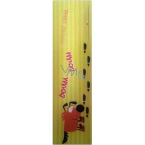 Albi Záložka Flip Flop 3D Čmuchající pes 19 x 5 cm