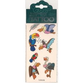 Tetovací obtisky dětské zvířátka T4P023B 7,5 x 15 cm